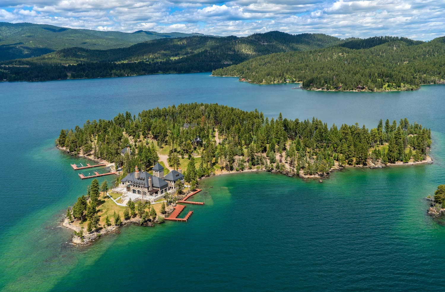 Shelter Island Estate - Montana, United States - Private Islands for Sale