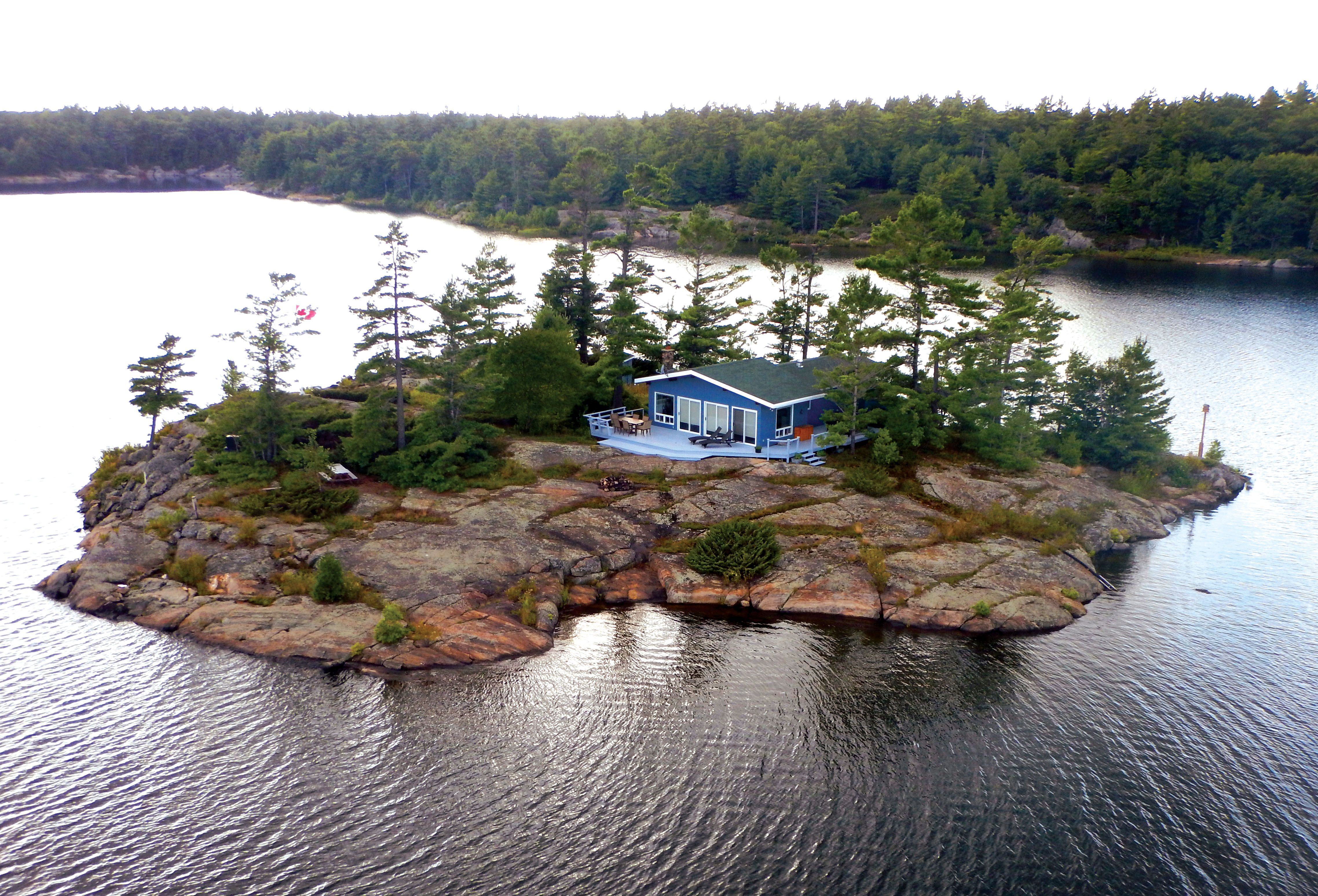Deepwater island ontario canada private islands for rent for Big island cabins