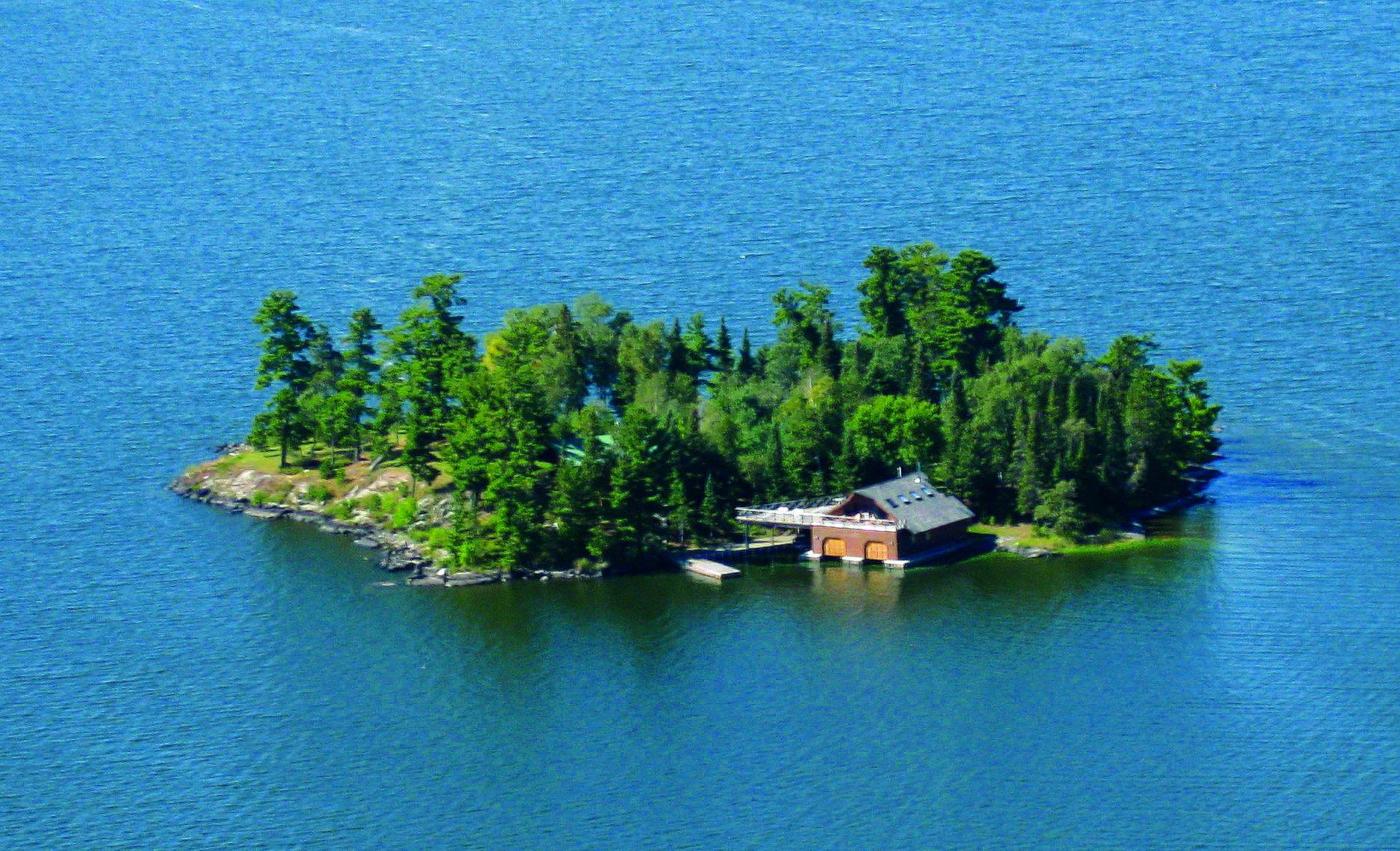 Shore Island Northern Ontario Ontario Canada