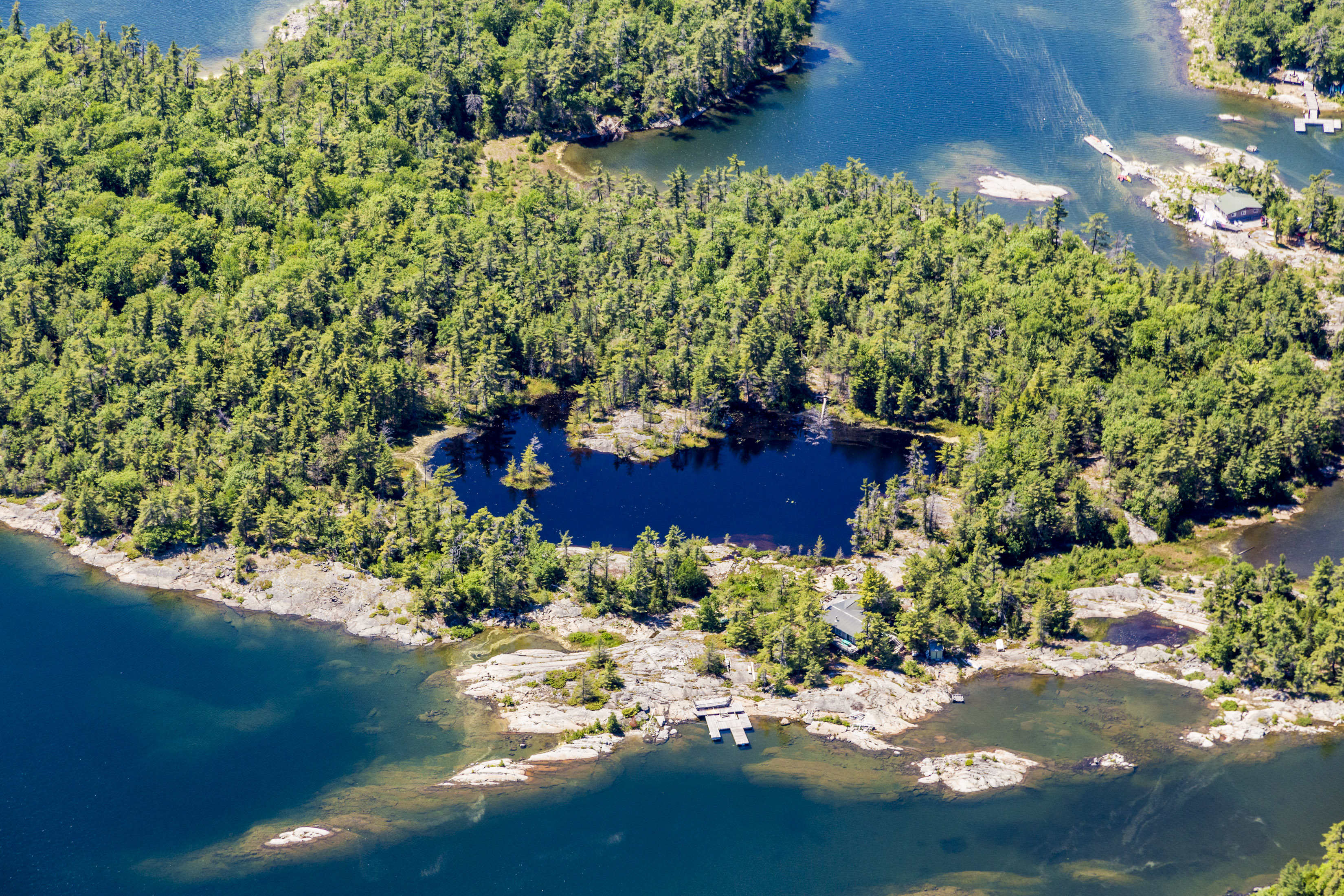The Pines Island - Georgian Bay, Ontario , Canada - Private Islands for Sale