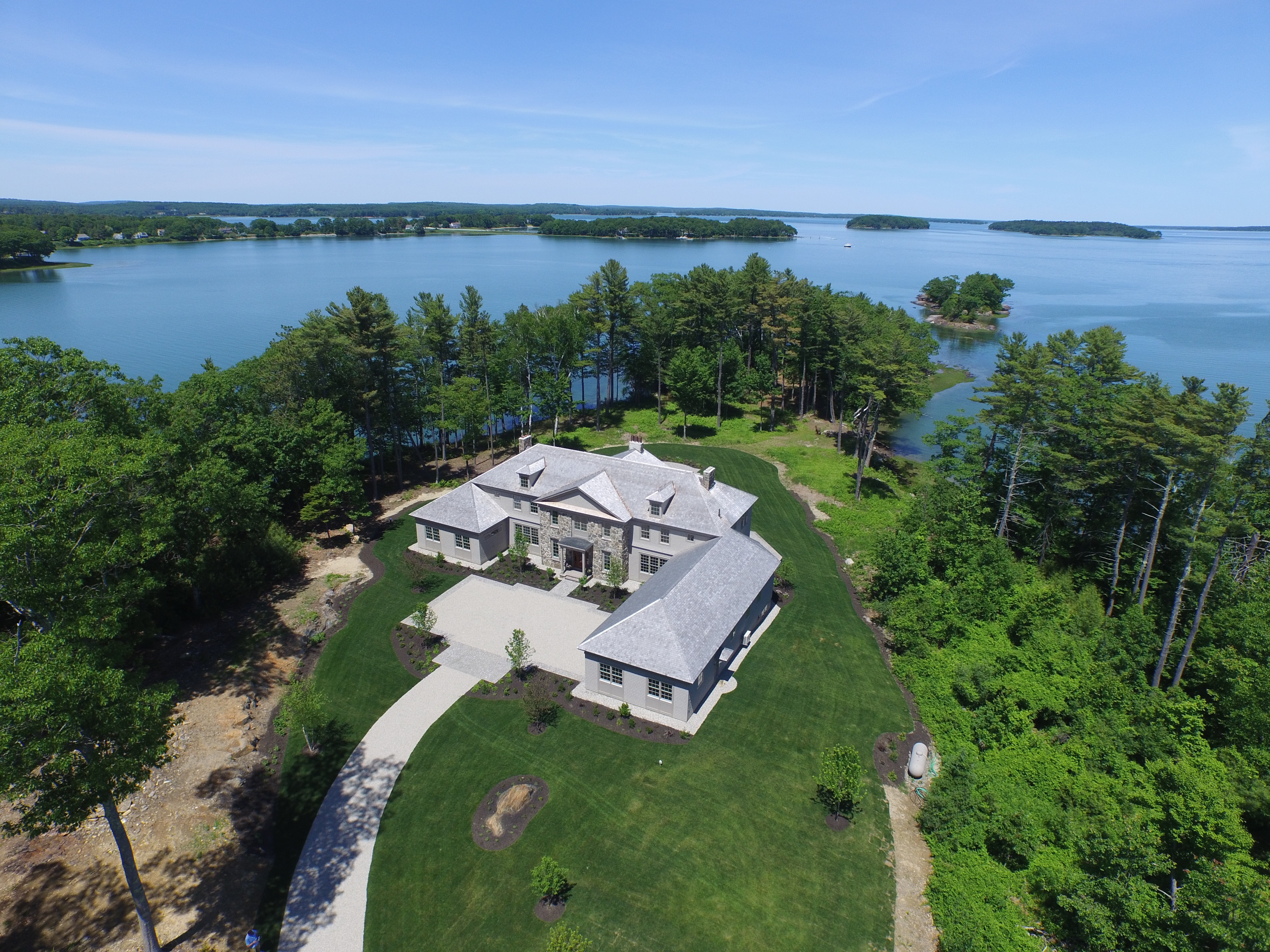 350 pemasong lane littlejohn island maine united for Cost to build a house in maine
