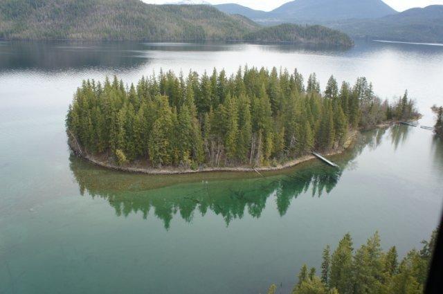 Echo Island Horsefly Lake