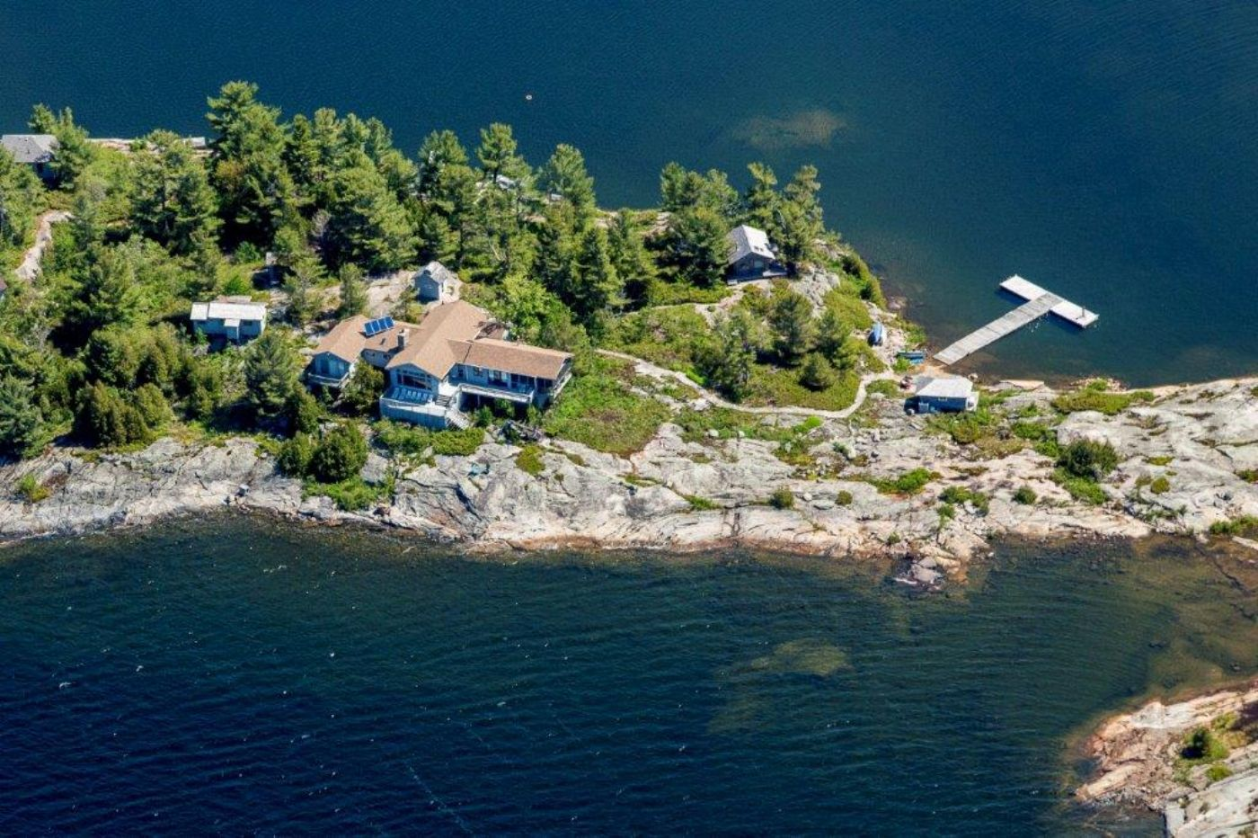 Trim Tree Island Georgian Bay Ontario Canada