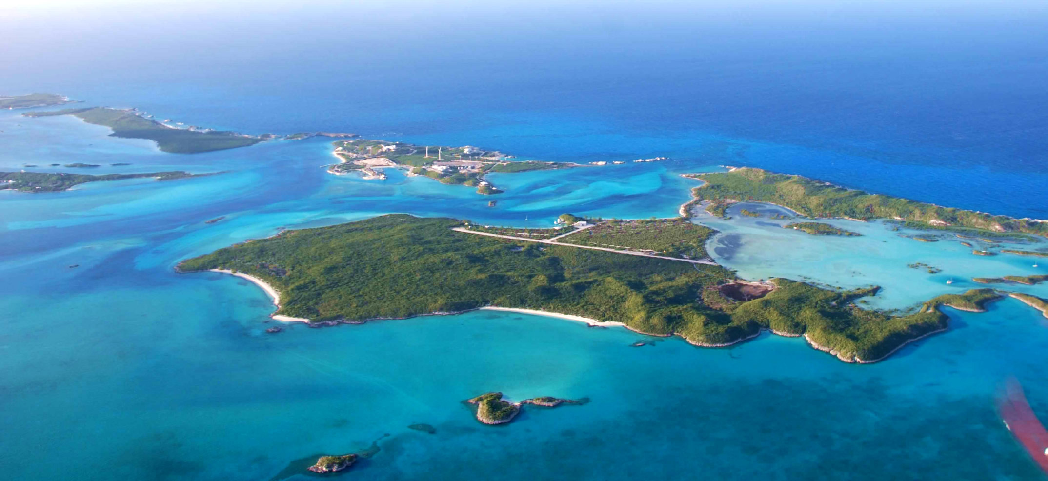 Big sampson cay the exumas bahamas caribbean for Bahamas private island for sale