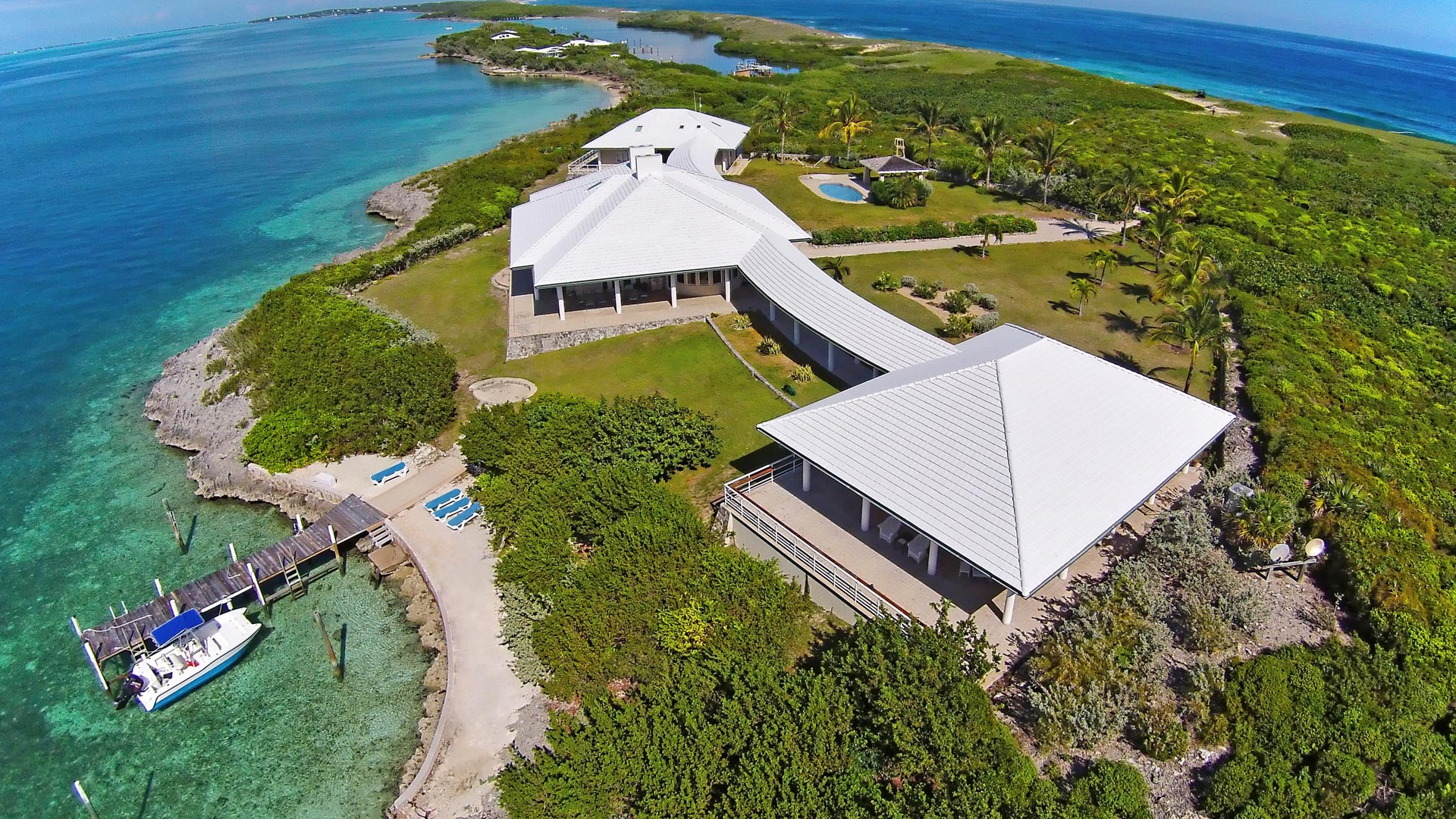 Tilloo pond the abacos bahamas caribbean private for Bahamas private island for sale