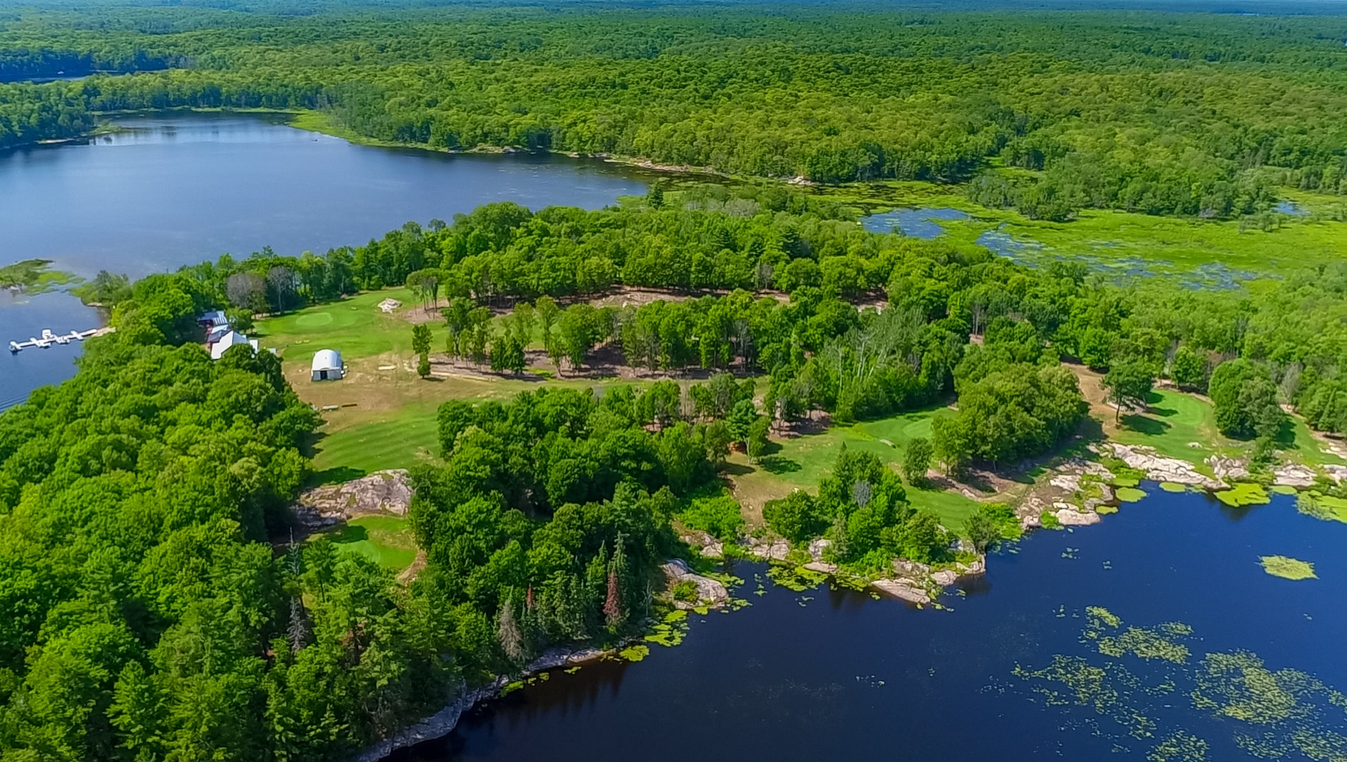 Lakefront Cottages and Golf Course Retreat - Georgian Bay ...
