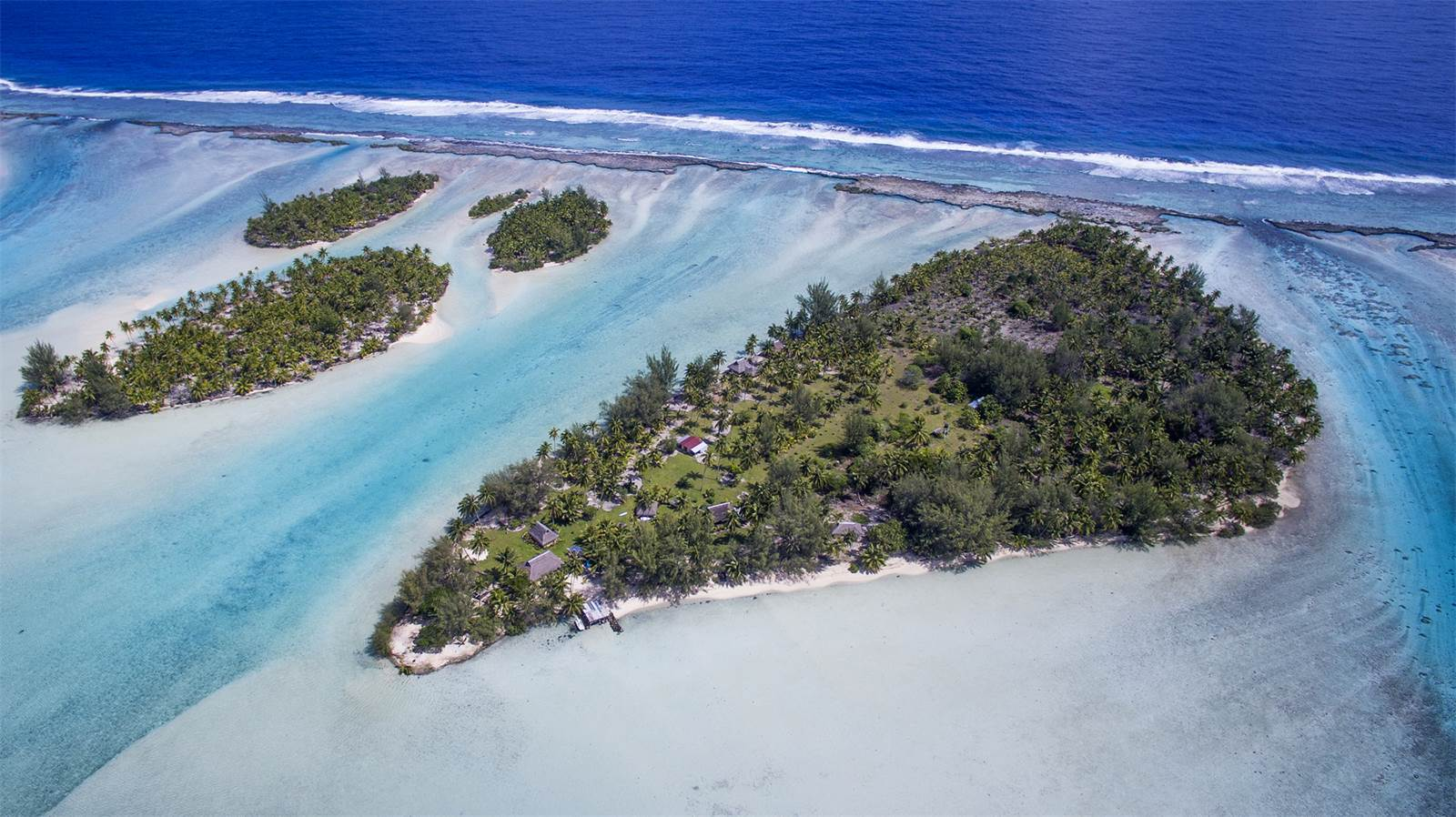 Motu moie french polynesia south pacific private for French polynesia islands for sale