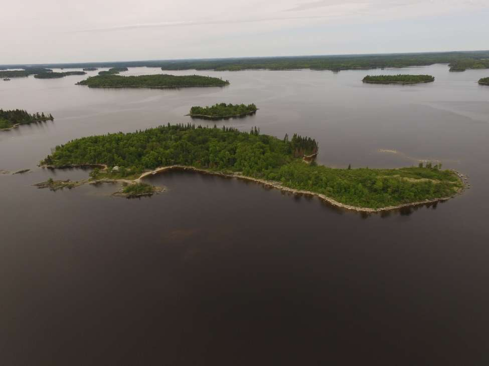 Lake Of The Woods Island Northern Ontario Ontario