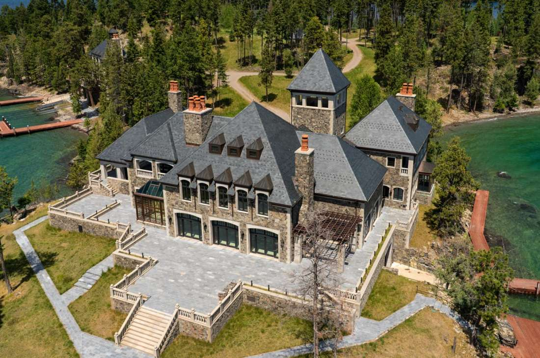 Shelter Island Estate Montana United States Private