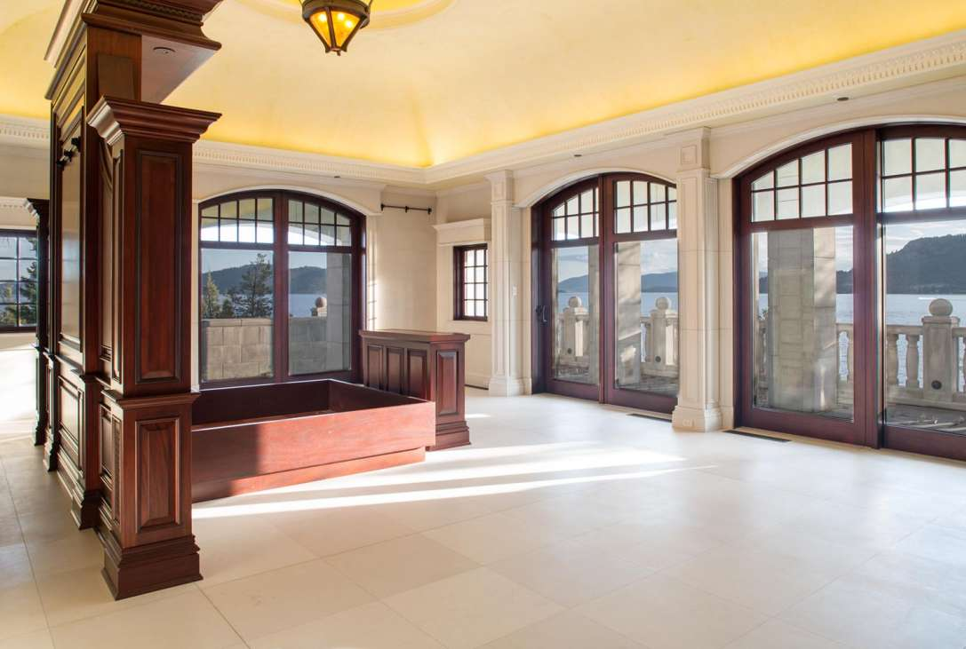 majestic home indoor shooting range design.  Read More Less Shelter Island Estate Montana United States Private Islands