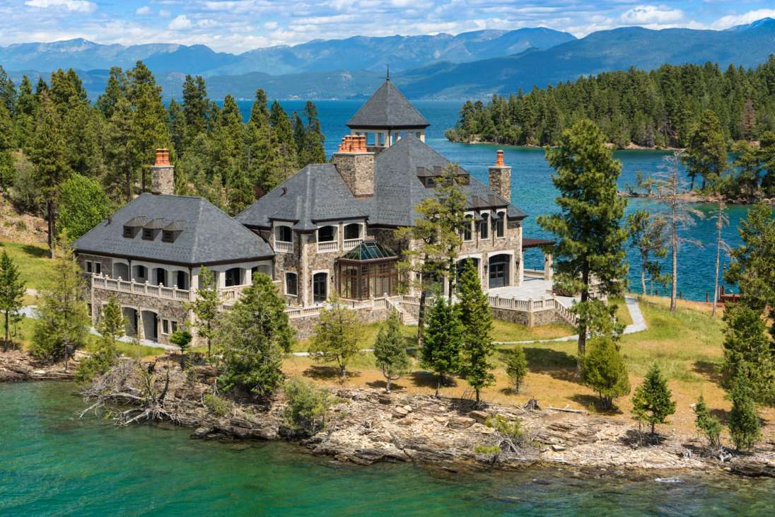Shelter island estate montana united states private for Shelter island homes for sale