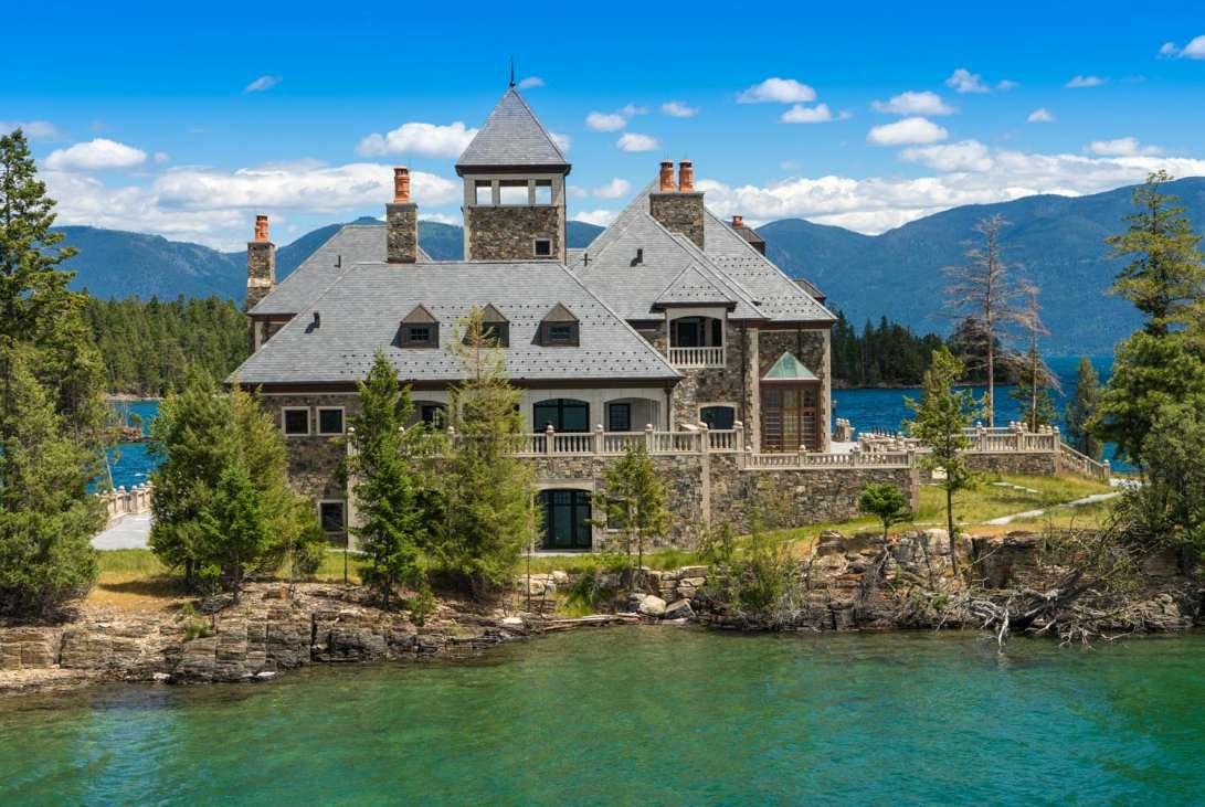 Shelter Island Estate Montana United States Private