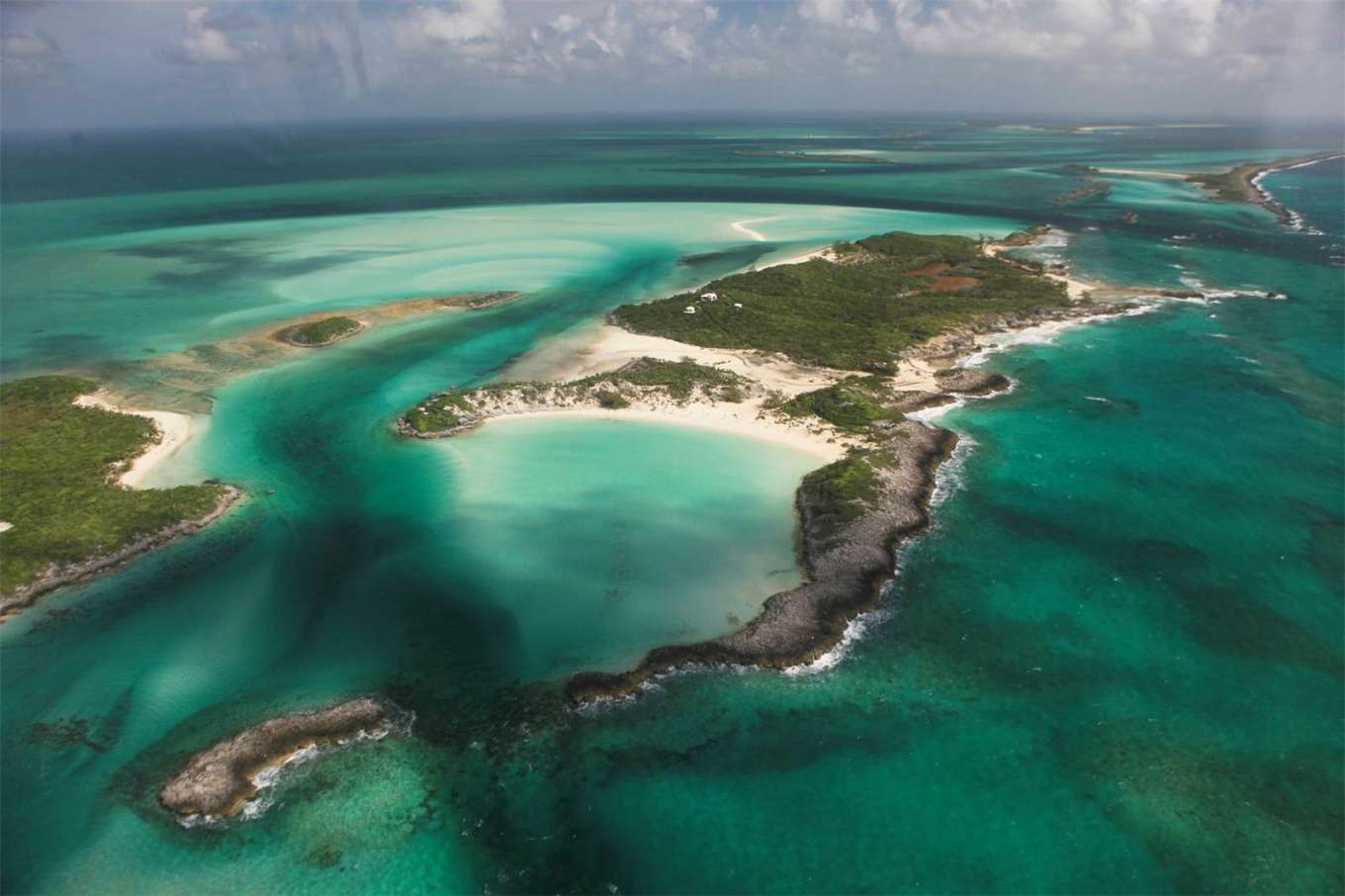 Saddleback Cay - The Exumas, Bahamas , Caribbean - Private