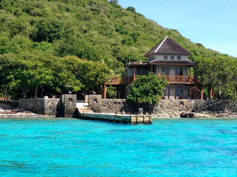 Lovango Cay Us Virgin Islands Caribbean Private