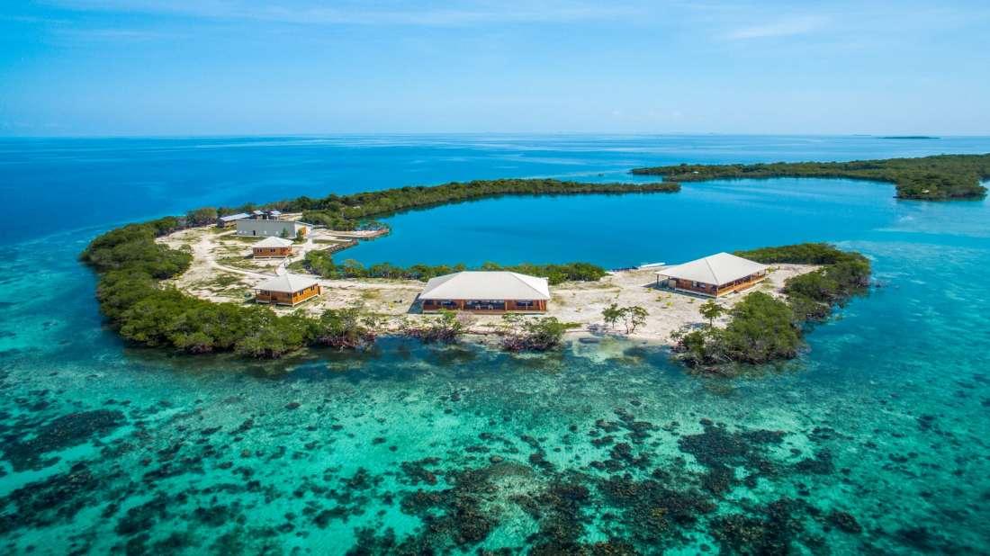 North Saddle Caye Belize Central America Private