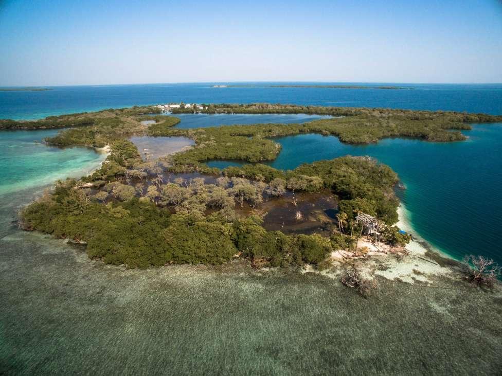 North East Caye Belize Central America Private