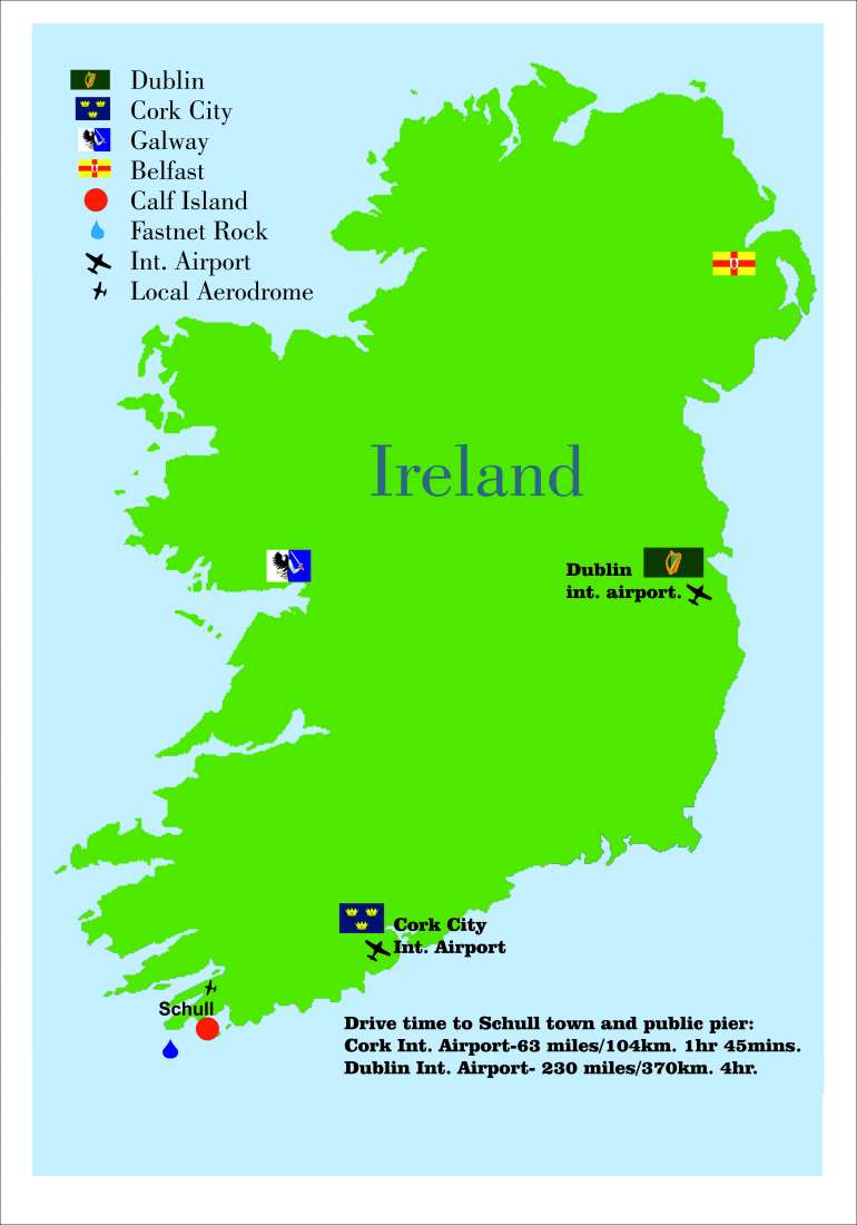 Map Of Ireland Islands.West Calf Island Ireland Europe Private Islands For Sale