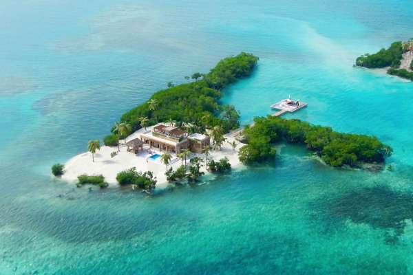 Private Helicopter For Sale >> Gladden Private Island - Belize, Central America - Private ...