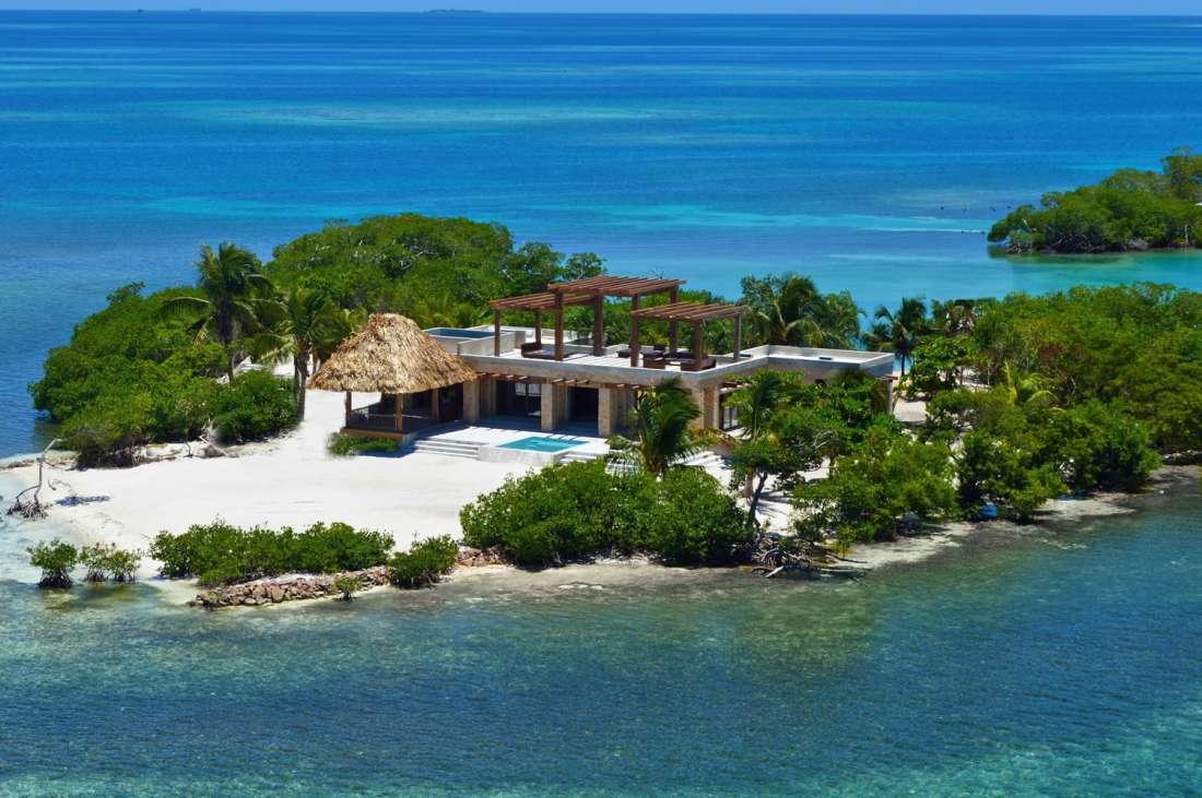 Gladden Private Island Belize Central America Private