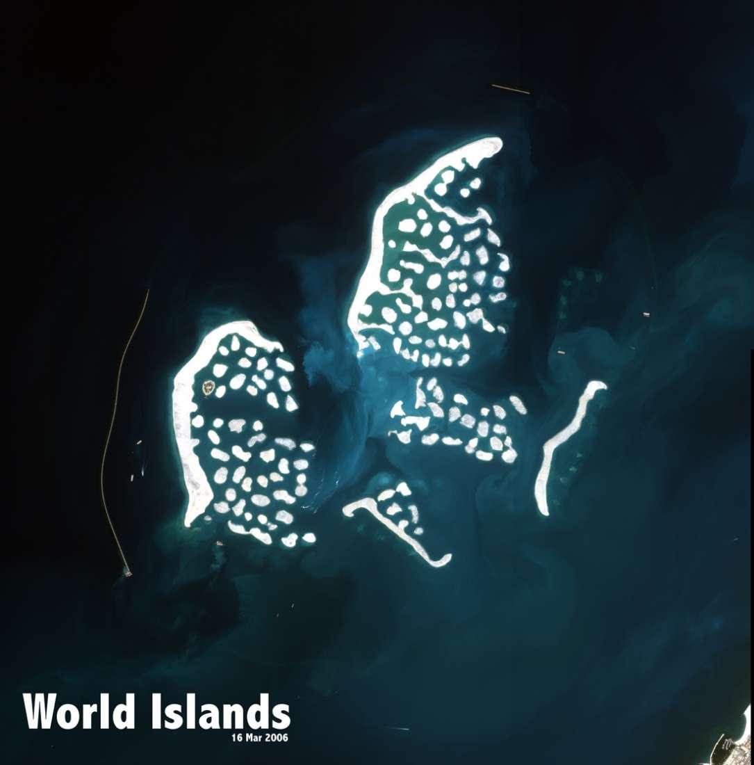 Map Of World Islands.The World Islands Dubai United Arab Emirates Asia Private