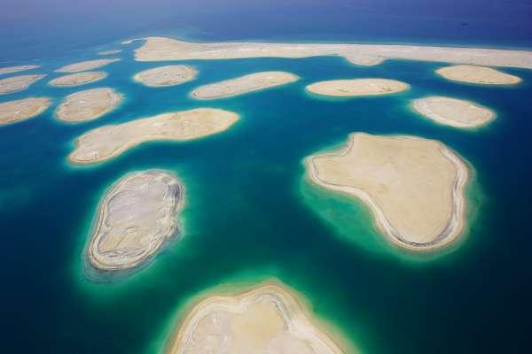 Scuba DIving at The World Islands in Dubai
