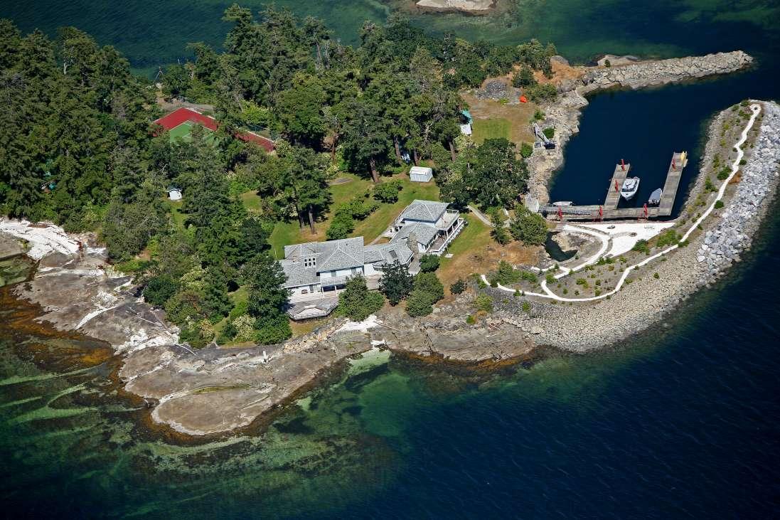 Scott Island British Columbia Canada Private Islands