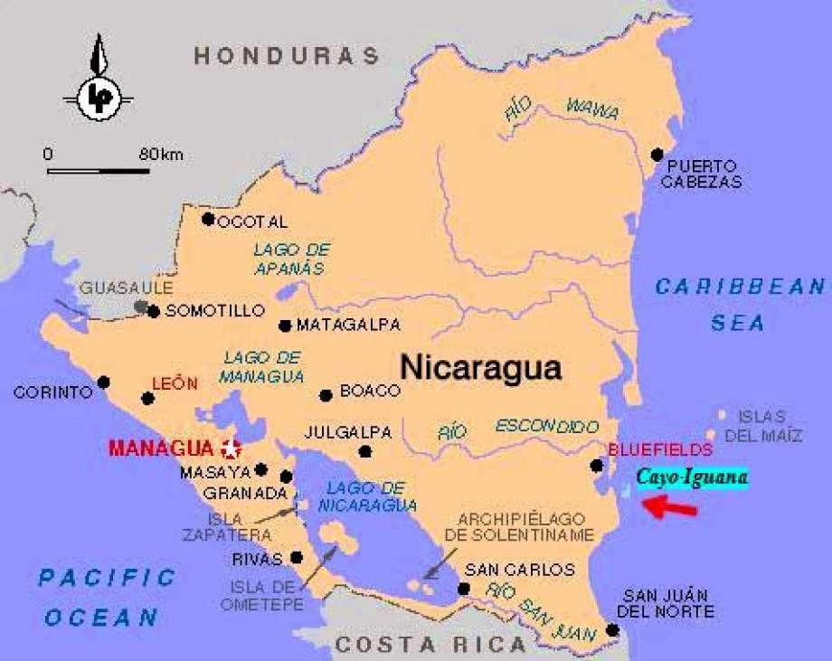 Calala Island Map