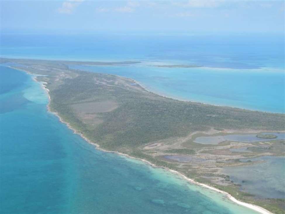 Bahamas Island Location Map